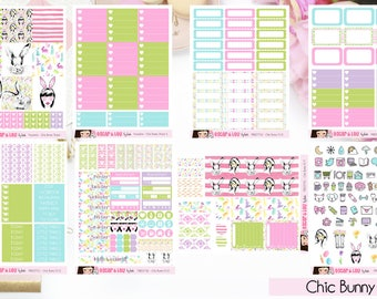 Freestyle Planning Sticker Kit - Chic Bunny