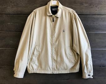 Vintage 90s Nautica Zip-Up Jacket