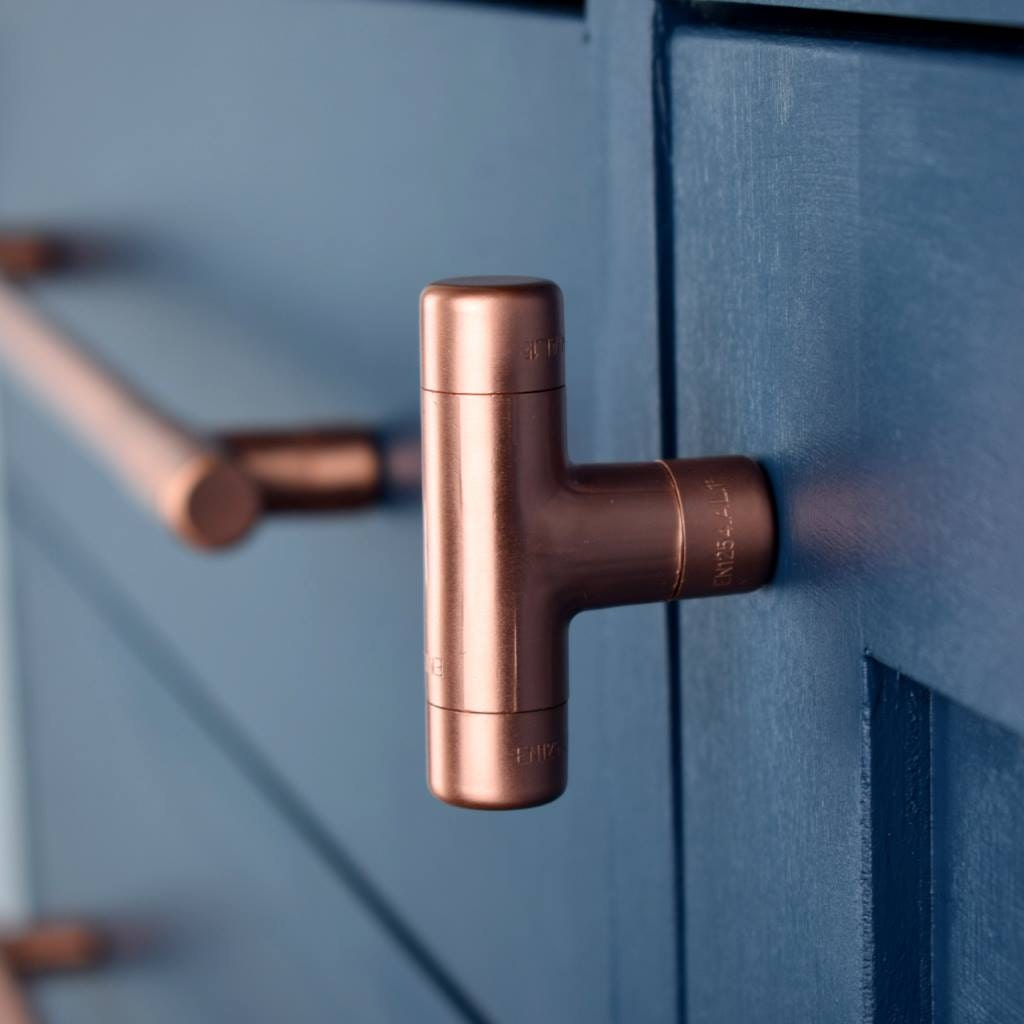 Beautiful Copper Cabinet Knobs and Drawer Pulls