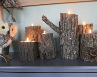 Branch Candle Holders (set of 3)