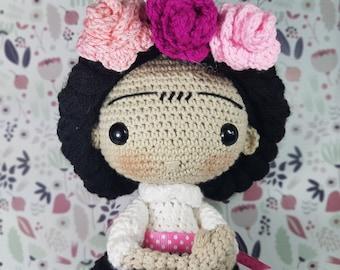 Amigurumi Frida Kahlo Crochet