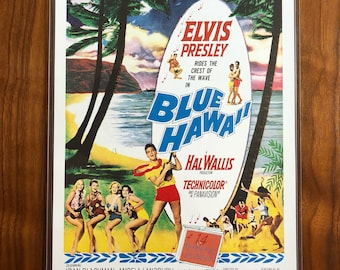 Reproduction Movie Poster Blue Hawaii Elvis Presley