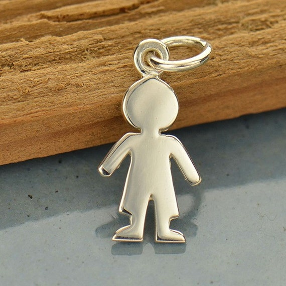 gold baby charm boy white listing pendant little m jewelry poshmark