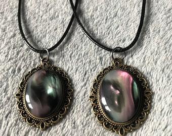 Mystic Colour Swarm  Pendant Necklace