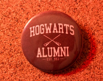 2.25 inch Hogwarts Pin-back Button