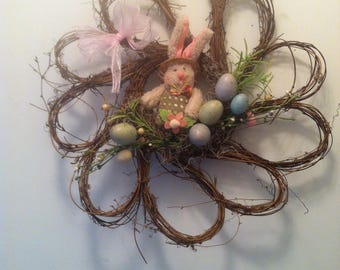 Easter /Spring bunny wreath