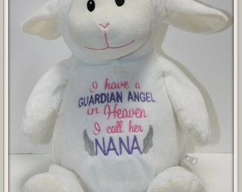 Guardian Angel - I have a Guardian Angel, stuffed animal