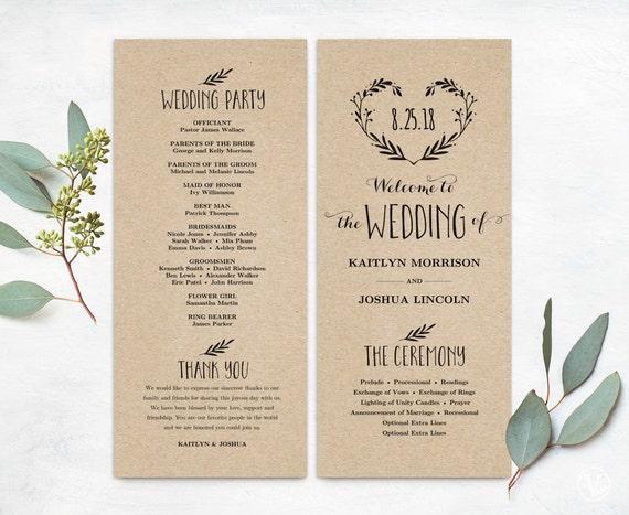 wedding programs thevillas co