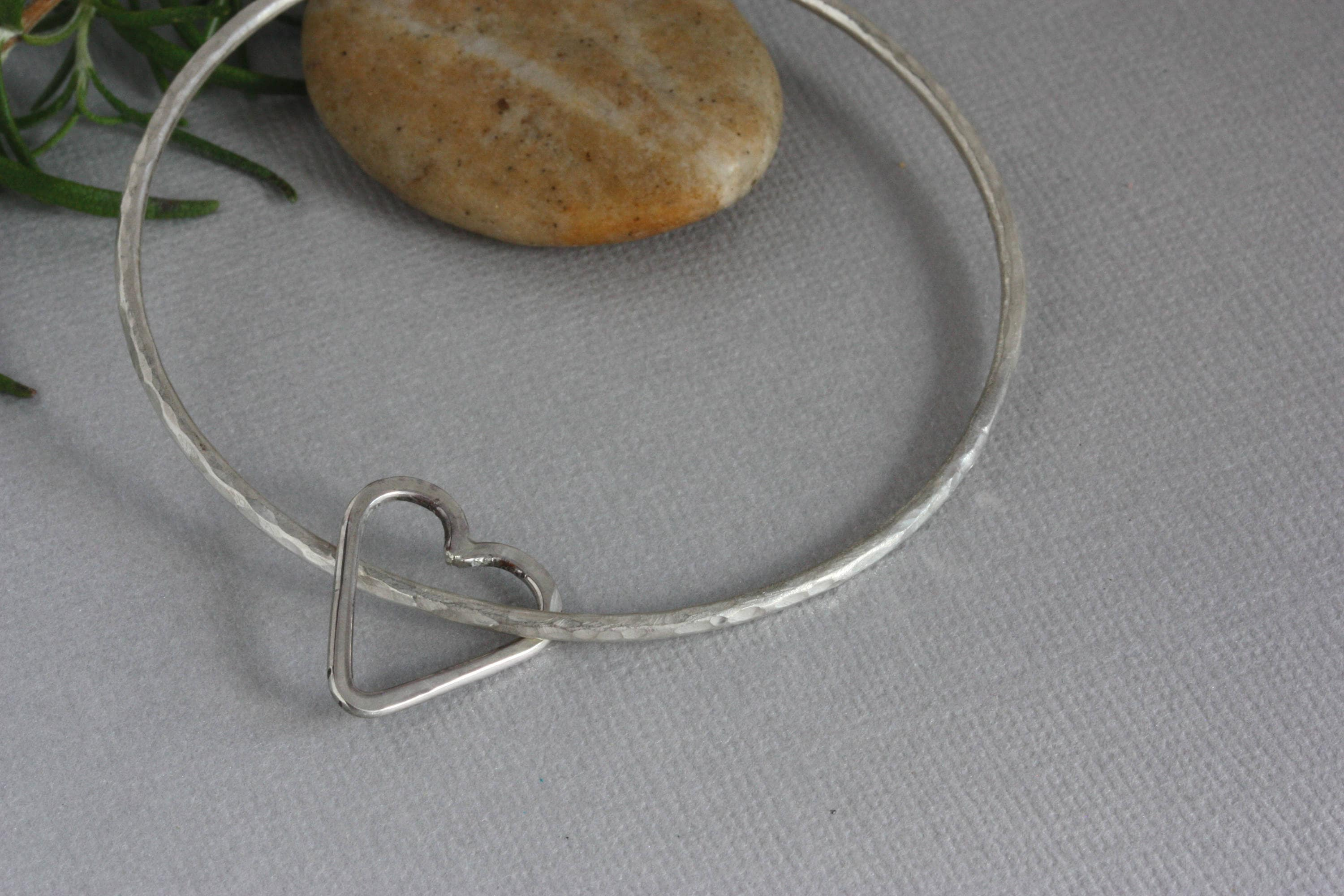 bracelet sterling collections products handmade handcuff adjustable silver in img