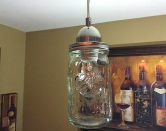 Mason jar lighting etsy workwithnaturefo