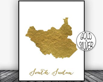 Sudan map print etsy south sudan print travel map south sudan map art travel decor travel gumiabroncs Gallery