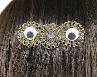 Google Eyes Hair Comb