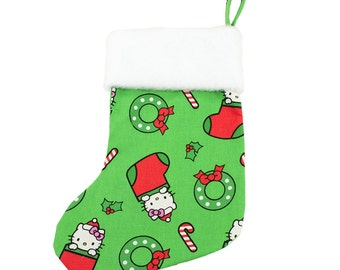 Hello Kitty Christmas Stocking (with or without personalization)