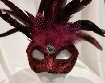 hand made, one of a kind mask
