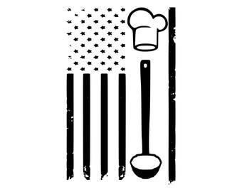Digi-tizers Cooks American Flag Rugged (SVG Studio V3 JPG)