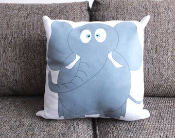 Elephant - Vegan Suede Cushion