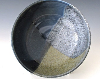 Small Serving Bowl. Light Blue. Navy Blue. Indigo. Cobalt. Light Blue. Blue Gray. Single Serving Bowl. Small Bowl. Earth Tone. OOAK.