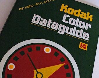Kodak Color Dataguide Darkroom Library Film Data, Chemistry Guide