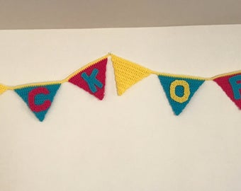 F*** OFF Crochet Banner