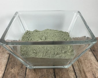 Green Tea Face Mask - Tea Face Mask - Vegan Face Mask - Face Mask - Clay Face Mask - Kaolin Face Mask - Vegan Mask