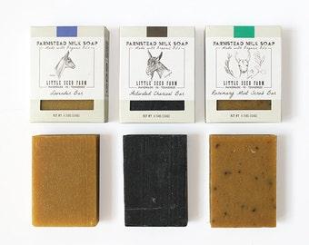 BEST SELLERS Soap Set - Organic, Handmade, Soaps