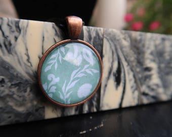 Seaweed & Shell Pendant
