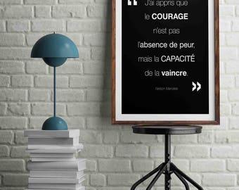 Inspirational Mandela.