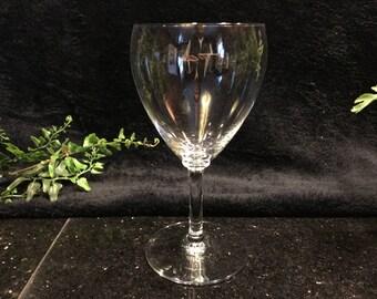 Baccarat Fine Crystal Wine Goblet