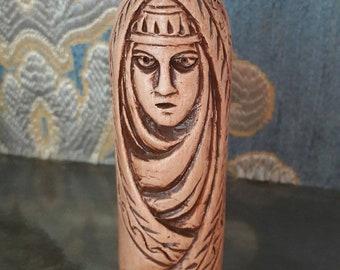 Small Handcrafted Figurine of Nerta