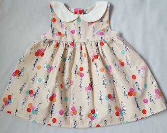 Raquel infant peter pan collar dress