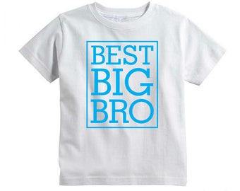 Best Big Bro Svg cut file for Cricut, Silhouette, and Cameo, vinyl transfer Svg cut file, big brother Svg, toddler shirt Svg