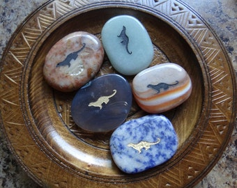 OTTER Gemstone Animal Spirit Totem for Spiritual Jewelry or Crafts