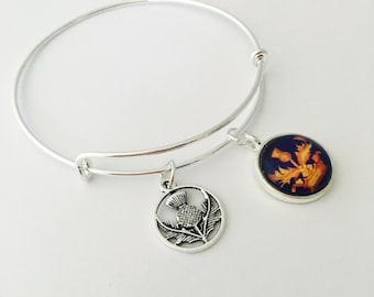 Book 1 charm bracelet