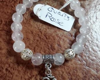 Gemstones bracelet natural Rose Quartz