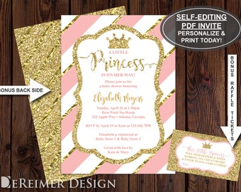 Princess baby shower etsy popular items for princess baby shower filmwisefo