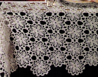 PDF Crochet Tablecloth Pattern Instand Download