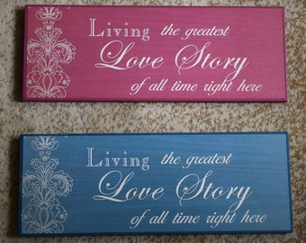 Plaque-Love Story