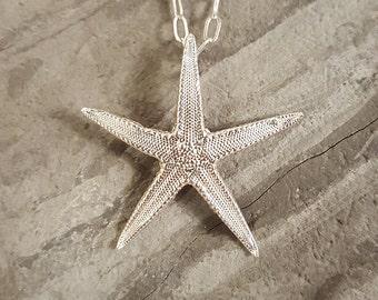 Large Starfish Necklace