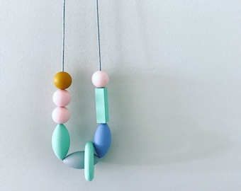 Tranquil Imbalance - Silicone Necklace