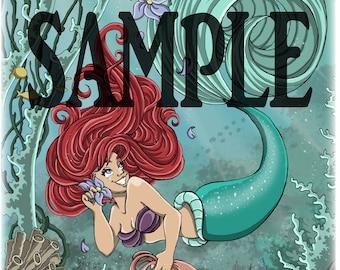 The Little Mermaid ~ Prints