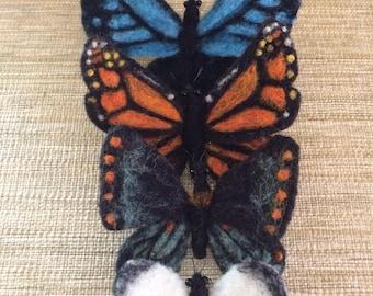 Fluttery Felted Butterflies