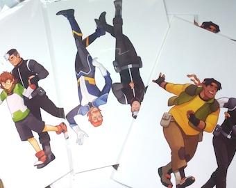 VLD Dancing Mini Prints