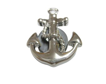 Detailed Nautical Anchor Magnet