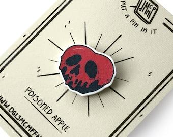Poisoned Apple - Snow White - Lapel Pin