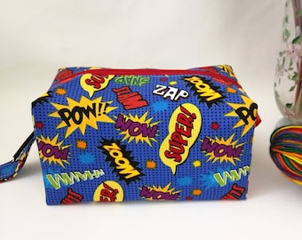 Small Box Bag - Super Words