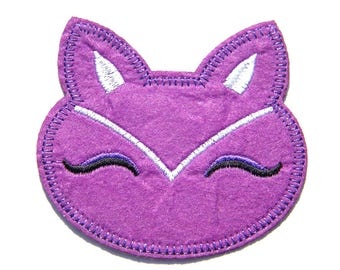 Fox Embroidered Patch Appliqué