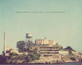 Shutter Island, Alcatraz Art, Alcatraz Photo, Alcatraz Print, Alcatraz Island Art, Shutter Island Art, Quote On Photography, Alcatraz Prison