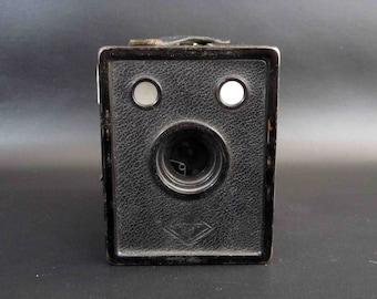 Vintage Agfa B-2 Cadet Box Camera. Circa 1930's.
