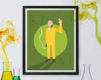 Breaking Bad Poster - Walter White