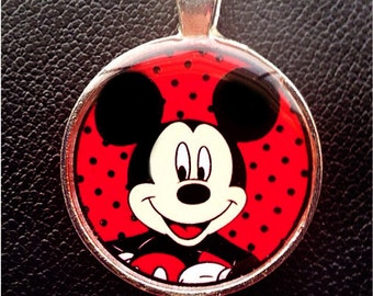 Disney Mickey Mouse pendant Mickey Mouse necklace Disney pendant Disney necklace Mickey Mouse charm